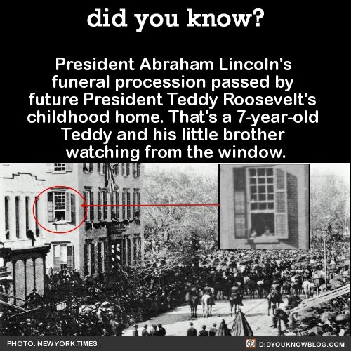 did-you-kno:   President Abraham Lincoln's funeral... - mental_floss