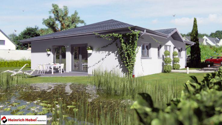 Kleines Einfamilienhaus (4) Architekt: Heinrich Hebel Programmversion: Lumion 5.3 Pro Renderzeit: 45 sec. CAD: Allplan 2014