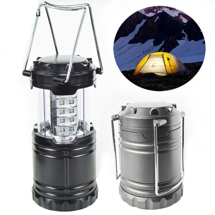 Portable Super Bright Lightweight 30 LED Camping Lantern Outdoor Water Resistant Lamp Tourist Tent Camping Lighting Flashlight