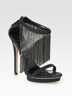 Maybe I would..: Cassian Sandals, Fringes Sandals, Cassian Snakes, Leather Fringes, Stingrays Prints Leather, Brian Atwood, Snakes Prints Leather, Atwood Cassian, Shoes Porn