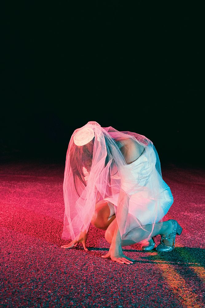 "Bat for Lashes ""The Bride"" Artwork collaboration by Neil Krug & Natasha Khan Typography by Richard Welland http://instagram.com/neilkrug"