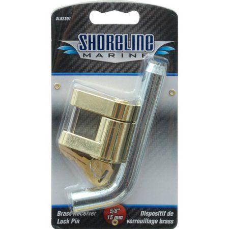 Shoreline Marine Trailer Receiver Lock Pin, Multicolor