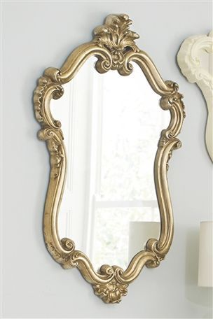 Bordeaux Portrait Mirror
