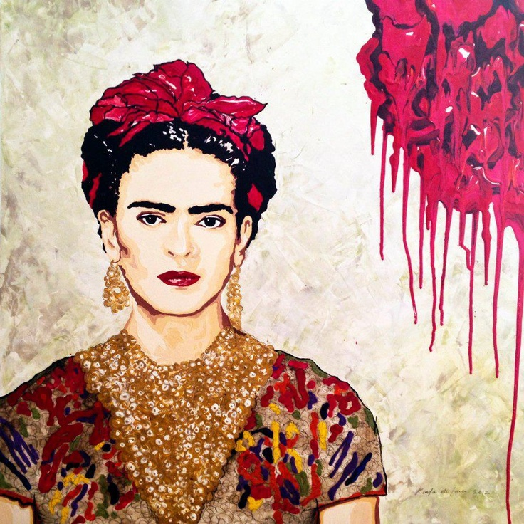 Frida Kahlo por Karla D'Lara