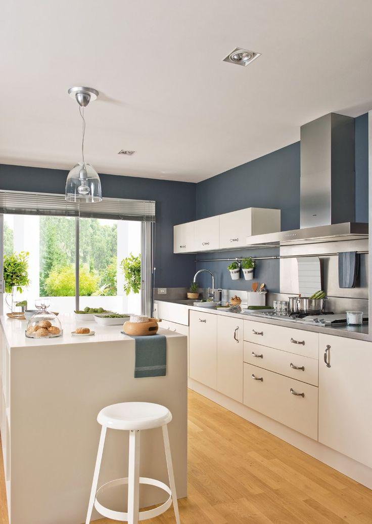 Cocina y baño como nuevos con un gasto mínimo · ElMueble.com · Cocinas y baños