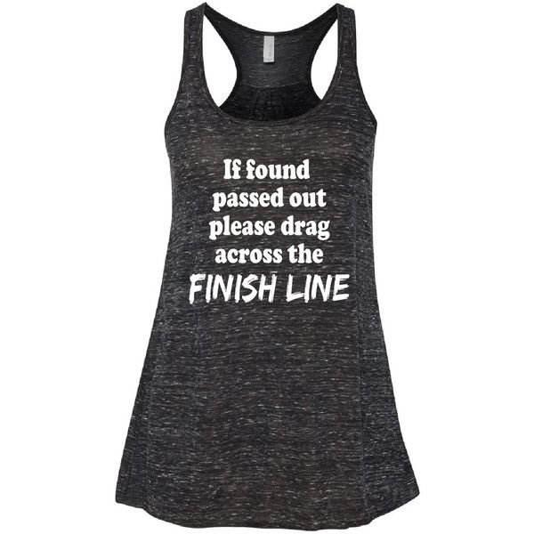 Funny Marathon Tank Top Runners Tank Top Relaxed Flowy Tank Top Muscle... ($23) ❤ liked on Polyvore featuring tops, black, tanks, women's clothing, america tank top, baseball style t shirts, baseball t shirts, letter shirts and relaxed fit tops