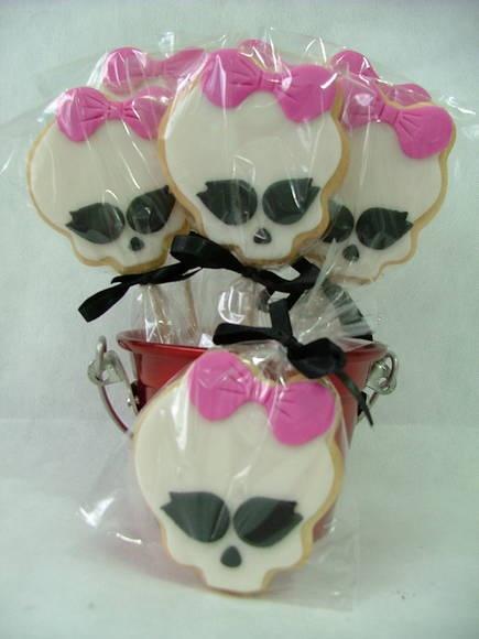 Biscoitos decorados - Monster High