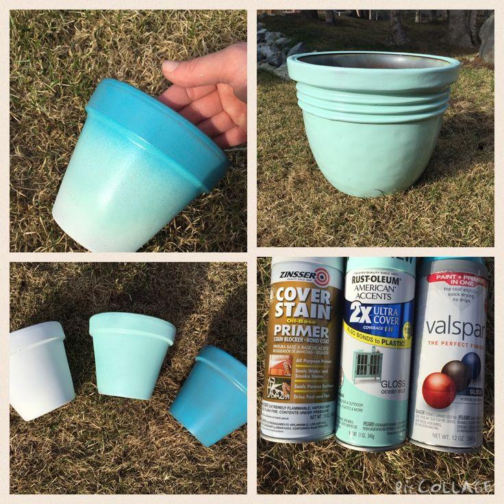 17 Best Ideas About Plastic Flower Pots On Pinterest & Good Paint For Plastic \u2013 Name