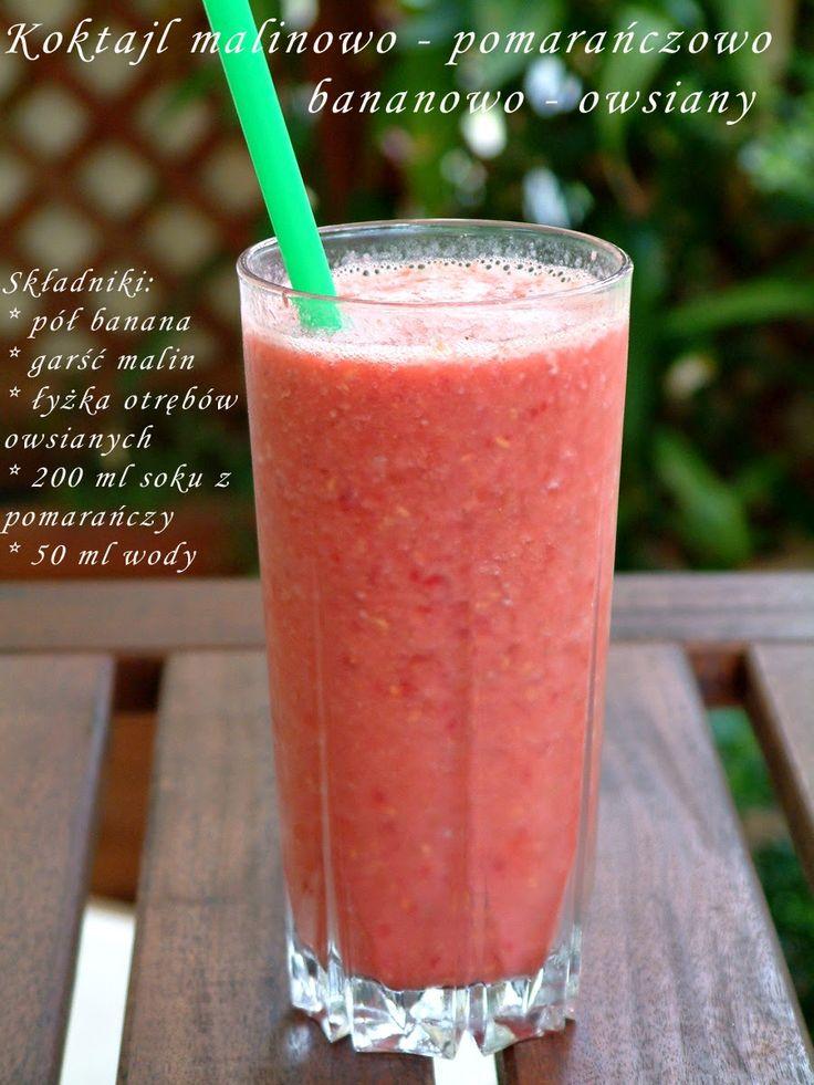 Qchenne-Inspiracje! FIT blog o zdrowym stylu życia i zdrowym odżywianiu. Kaloryczność potraw. : Fit koktajle - pyszne, zdrowe, owocowe !