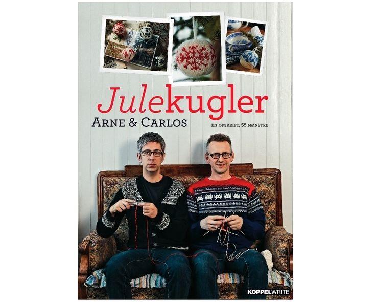 Julekugler af Arne & Carlos - Strikkepinden.com