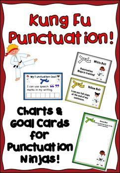 Kung Fu Punctution Charts & Goals