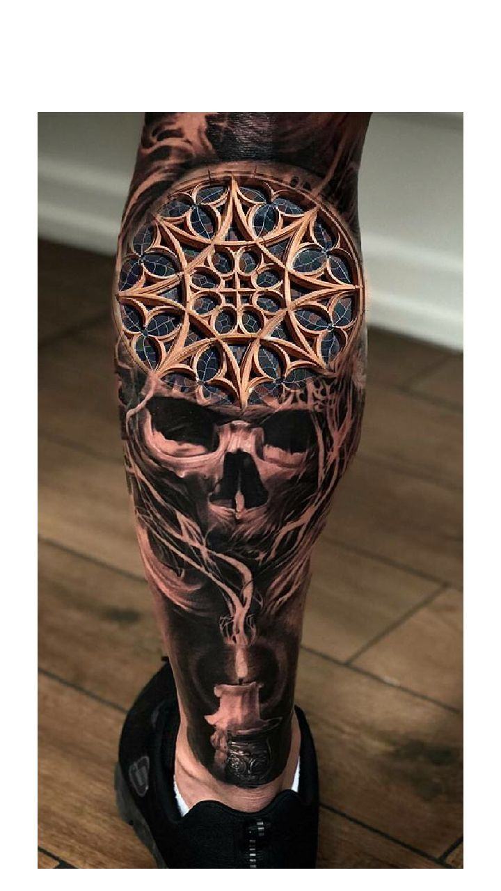 Not into the skull, but the detail on this is very good!