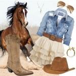 look com modelo de bota contry feminina da moda inverno 2012
