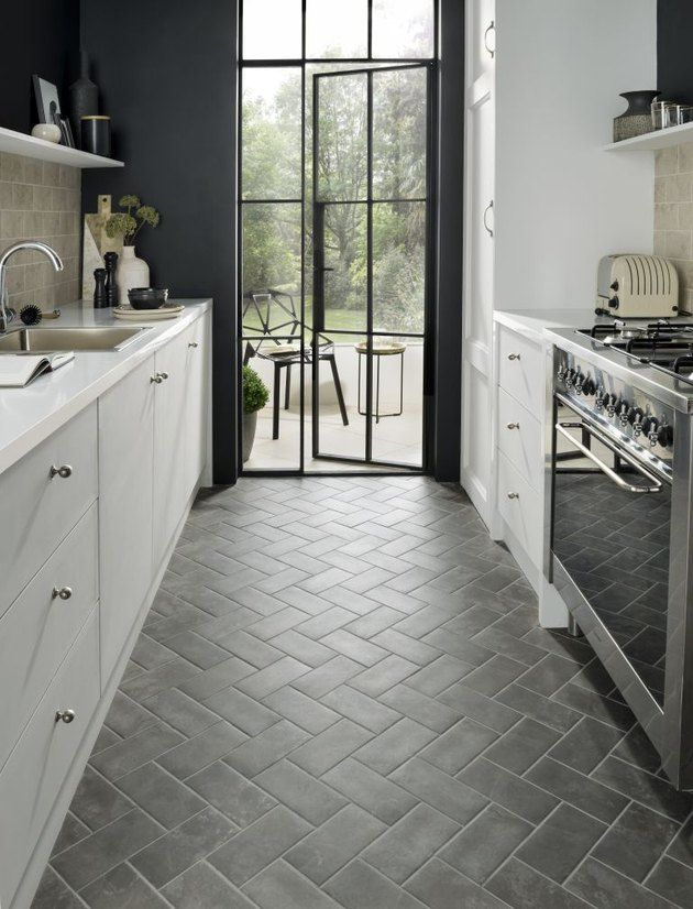 7 Scandinavian Kitchen Floor Tile Ideas