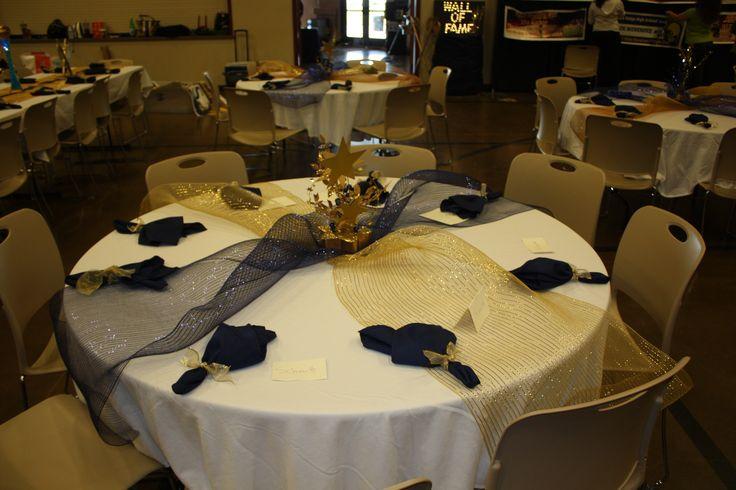 Awards Football Banquet Centerpieces