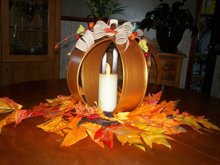 Make a Quick and Easy Thanksgiving Centrepiece