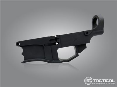 DPMS style AR-308/AR-10 Billet 6061-T6 80% lower receiver. No FFL required for transfer, ships directly to your home. sold exclusively at 5D Tactical