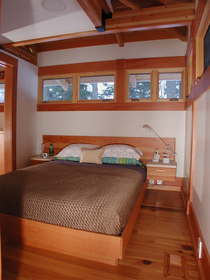 Lakeside Michigan Cottage Interior View Of Built In Bed