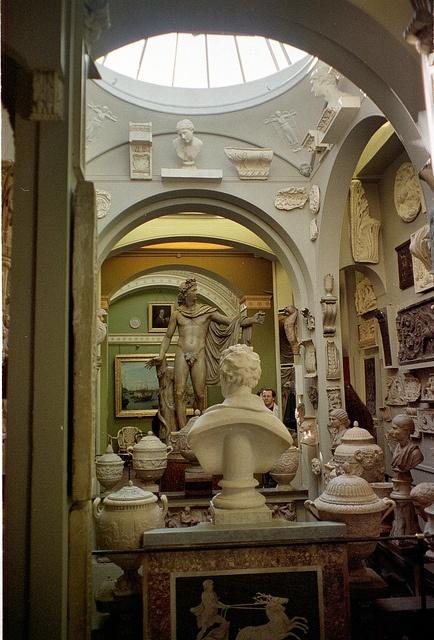 The John Soane Museum in London.