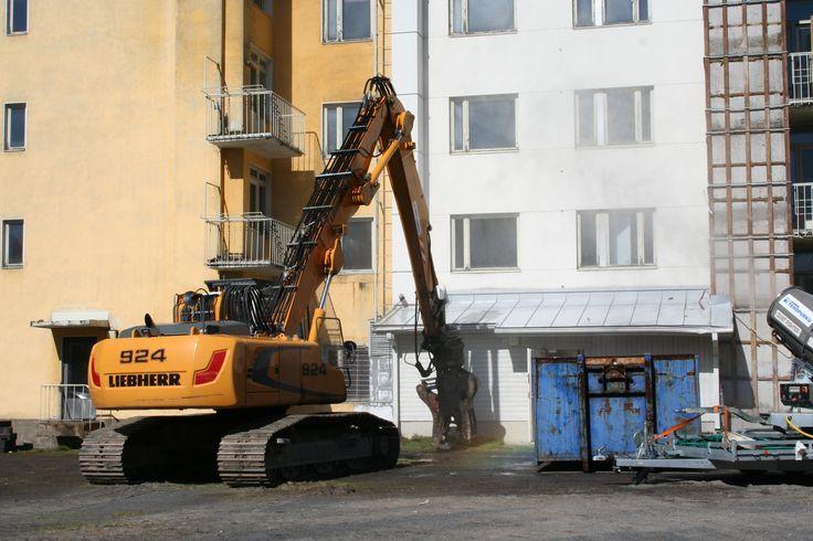 Purkamisen aloitus 16.5.2013.