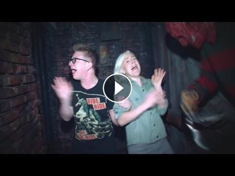 'The Tyler Oakley Show': A Haunted House with Hannah Hart: Tyler and Hannah scream their way through a haunted house. Tune in for new…
