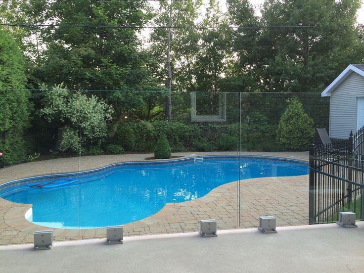12 best piscines pools images on pinterest landscaping swimming pools and backyard design. Black Bedroom Furniture Sets. Home Design Ideas