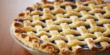Blueberry Lattice Top Pie Recipes | Food Network Canada
