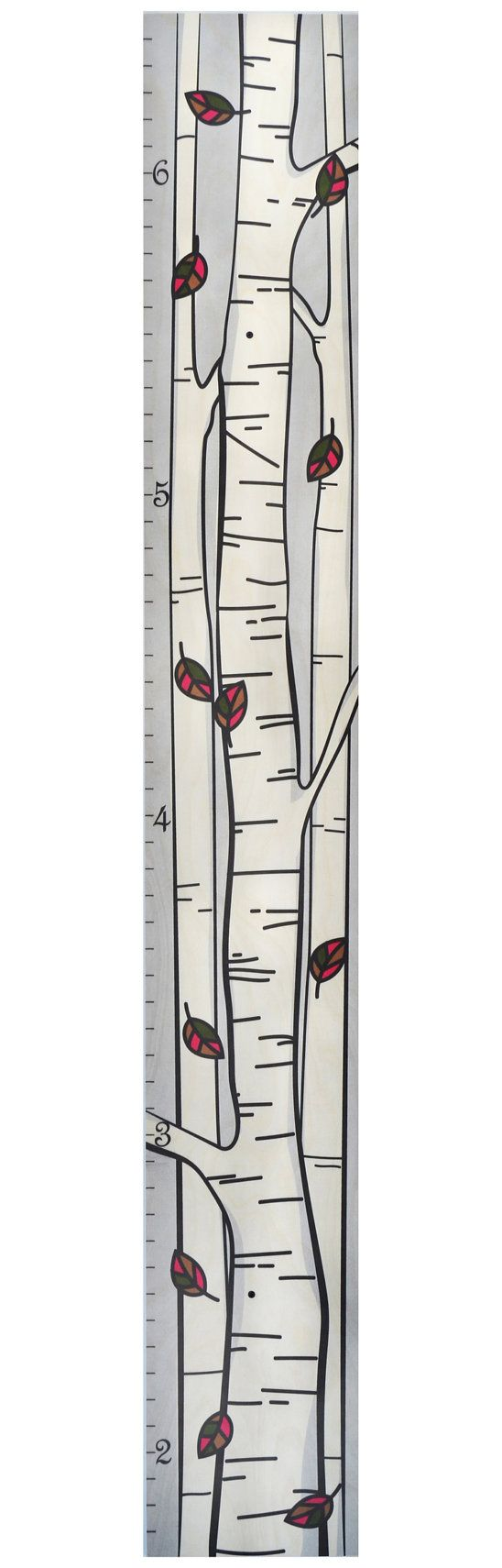 These rulers fit seamlessly into family decor. Used often, your ruler growth chart is sure to become a meaningful piece of family history!