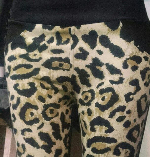 Calza Vestir Animal Print