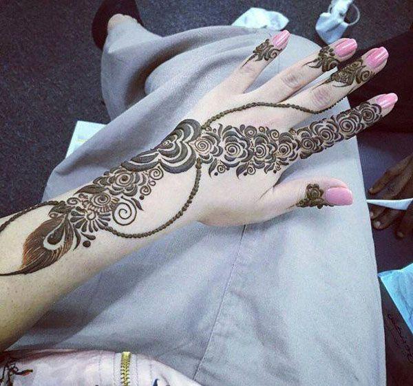 167 Best Indian Fashion Arabic Mehndi