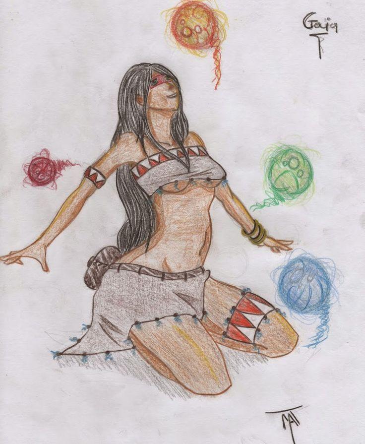 Gaïa Character design, Matthieu