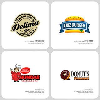 Jasa Desain Logo Kuliner    Desain Gerobak   Jasa Desain Gerobak Waralaba: Desain Logo Kuliner