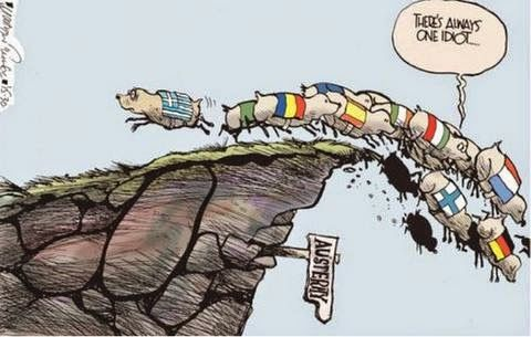 Το καυστικό σκίτσο των Irish Times για την Ελλάδα!