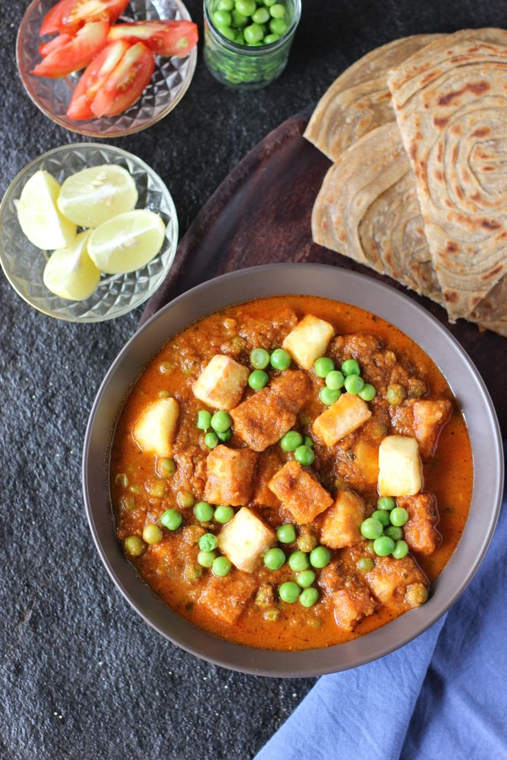 Matar Paneer Recipe. Matar Paneer is a North Indian curry consisting of green peas and paneer cooked in a tomato and onion gravy and spiced with garam masala...