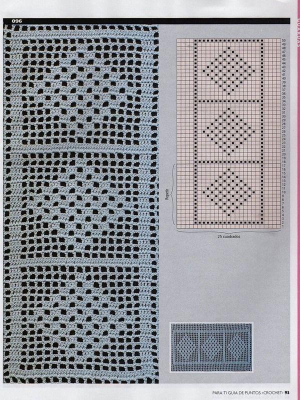 les 115 meilleures images du tableau libas croche sur pinterest crochet crochet filet et. Black Bedroom Furniture Sets. Home Design Ideas