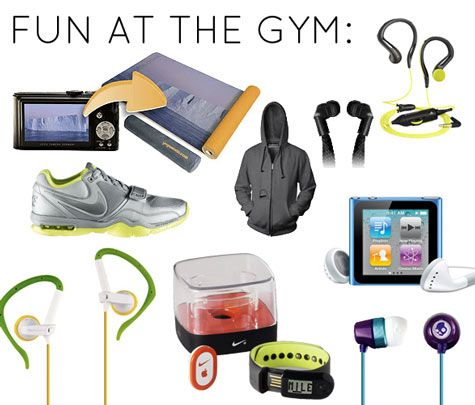 Top 20 tech accessories for health and fitness from Design Sponge. #fitness #tech