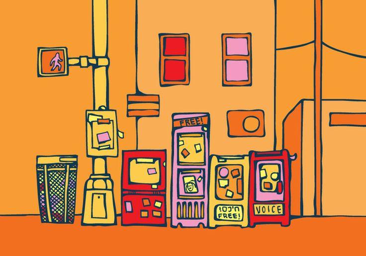 Read All About It! Brooklyn 2013. © Jane McPhee Fennessy.