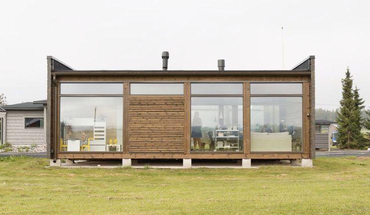 L'association du bois, du verre et de l'acier est à l'origine d'une nouvelle architecture.