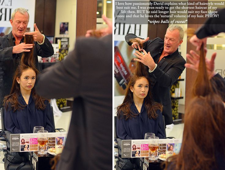 My Personal L'Oreal Majirel Hair Design Session with David Mercer - THE MISTY MOM