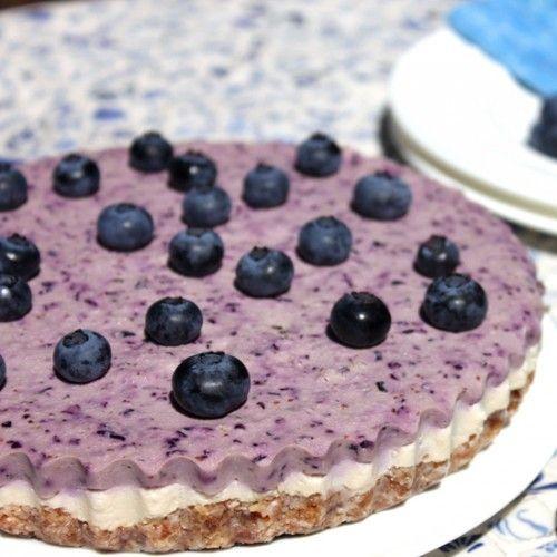 Raw Blueberry Cheesecake Recipe