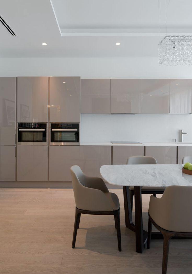 best 25+ küche taupe ideas on pinterest - Taupe Wohnzimmer