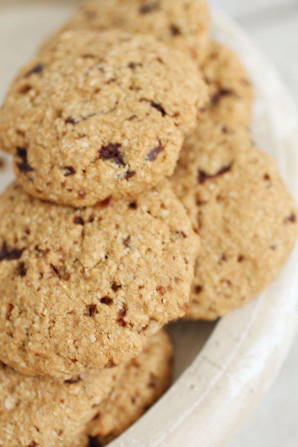 Biscotti con Farina di Sorgo e Cocco è una ricetta Senza Zucchero a Basso Indice e Carico Glicemico, Senza Glutine e Senza Latticini