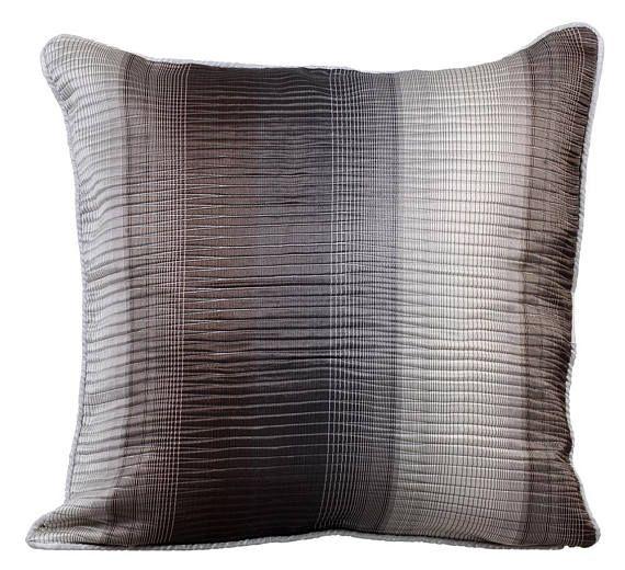 Luxury Grey Pillow Cases 16x16 Jacquard Pillows