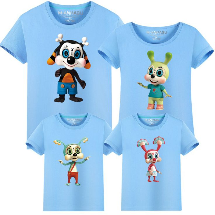 Family Reunion T Shirts Summer Cartoon Minions Family Matching Clothes Father Mother Kids Son Children Top Tees Outfits 14 Color #Affiliate