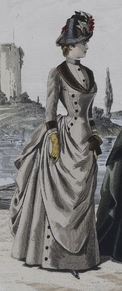 1880s fashion plate - would make a lovely 2013 fashion plate for me!