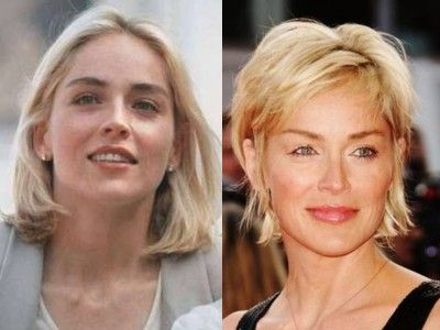 sharon stone young old Top 10 Ageless Celebrity Beauties Over 55