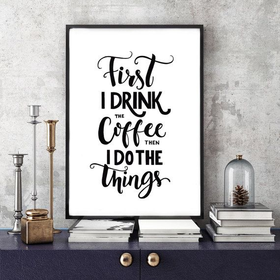 Coffee funny quotes Coffee quotes fashion by DollMemoriesArt #coffeeart #coffeehumor