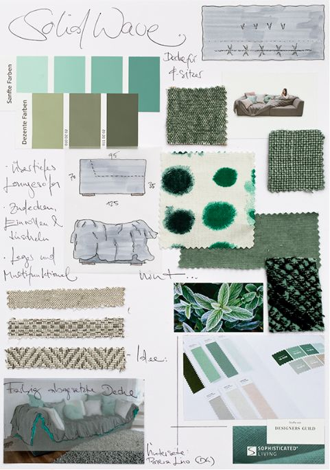 From the moodboard to the finished product with Sophisticated Living - Eclectic Trends