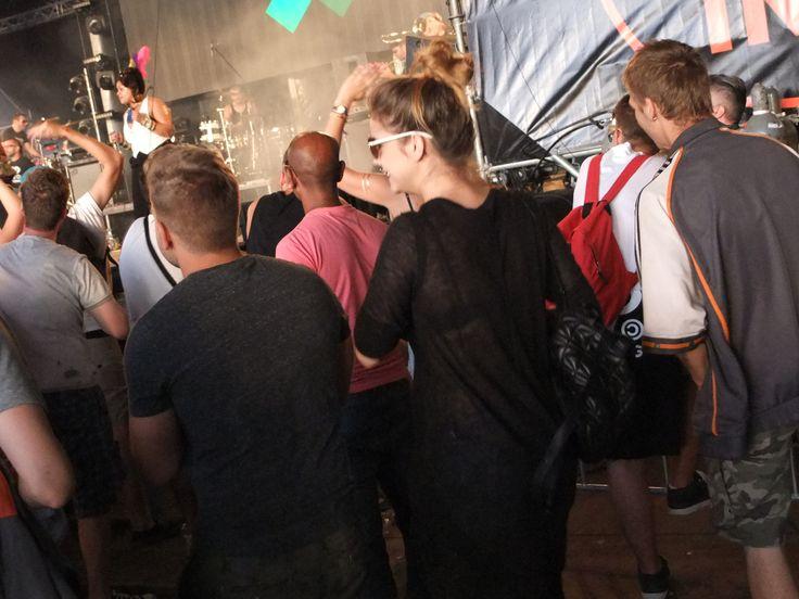 Palvin Barbi egész héten a Soundon bulizott. (Balaton Sound 2015) Fotó: Vásárhelyi Dávid - Hír7