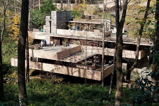 Fallingwater, Bear Run, PA - Frank Lloyd Wright